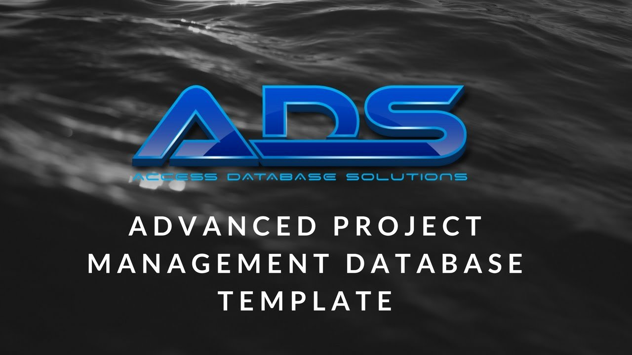 Microsoft Access Project Management Template Unique Advanced Project Management Database Template Microsoft Access