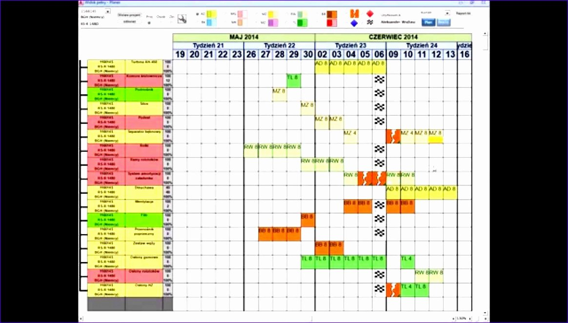 Microsoft Access Project Management Templates Unique 11 Production Scheduling Excel Template Exceltemplates