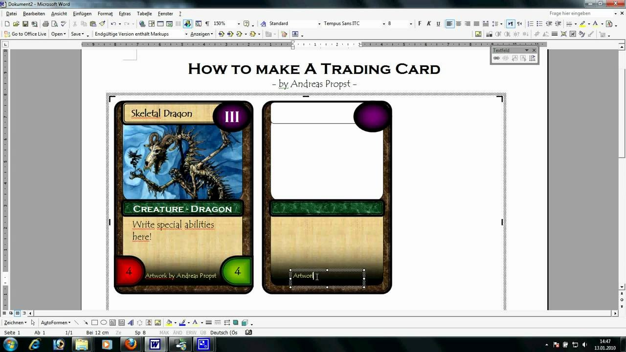 Microsoft Word Trading Card Template New Trading Card Template Word
