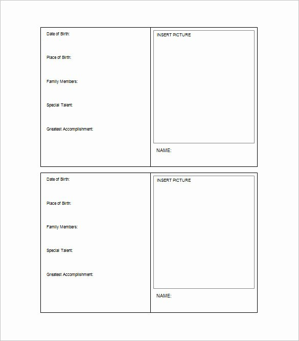 Microsoft Word Trading Card Template Unique 34 Trading Card Template Word Pdf Psd Eps