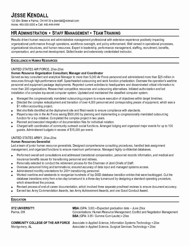 Military Resume Template Microsoft Word Luxury 9 10 Military Leadership Resume Examples