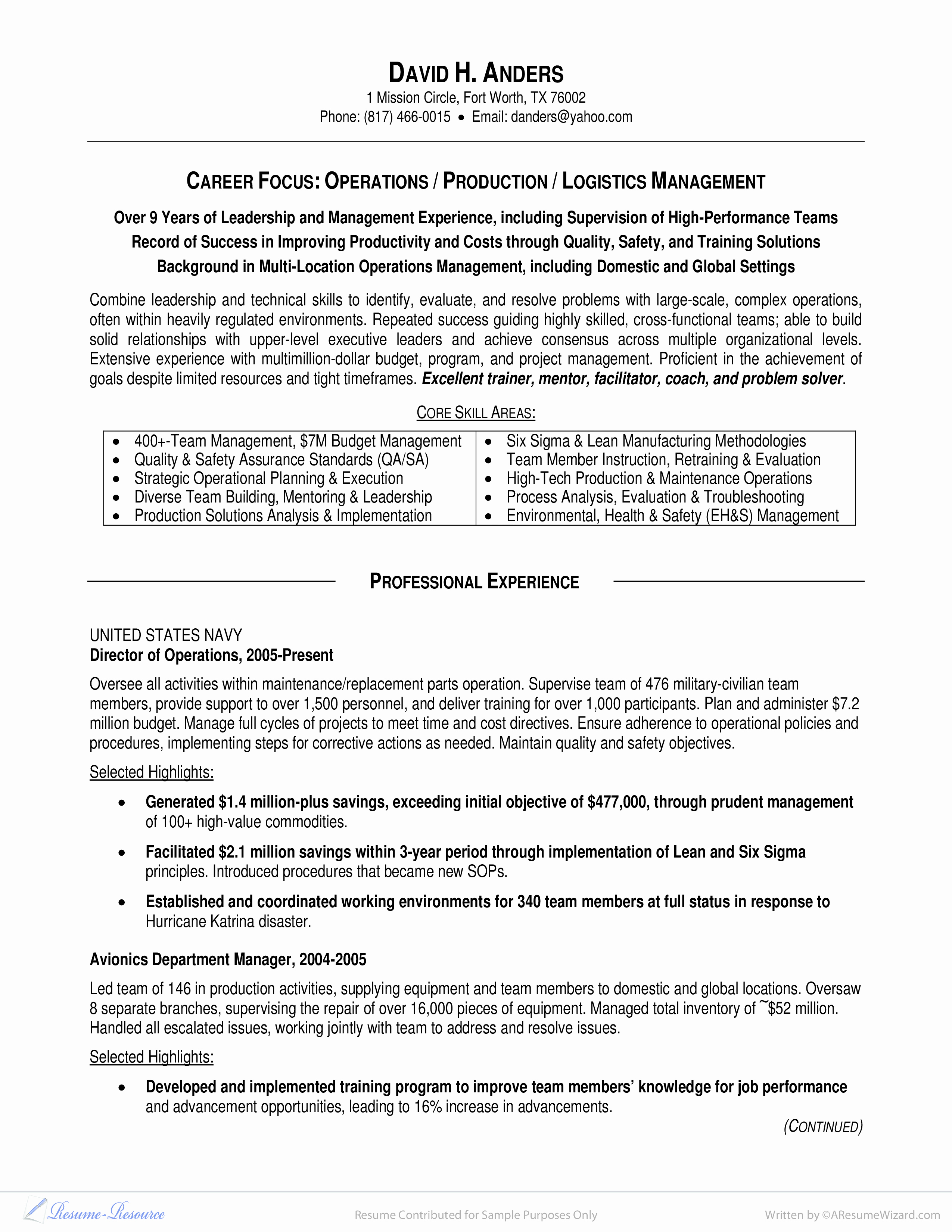 Military Resume Template Microsoft Word Luxury Military to Management Resume