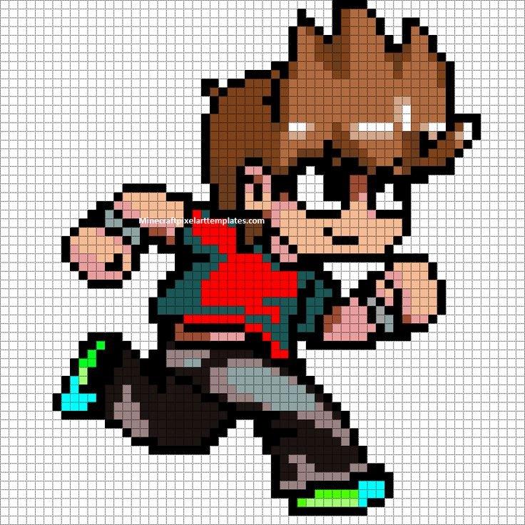 Minecraft Pixel Art Templates Unique 1000 Images About Pixel Art On Pinterest