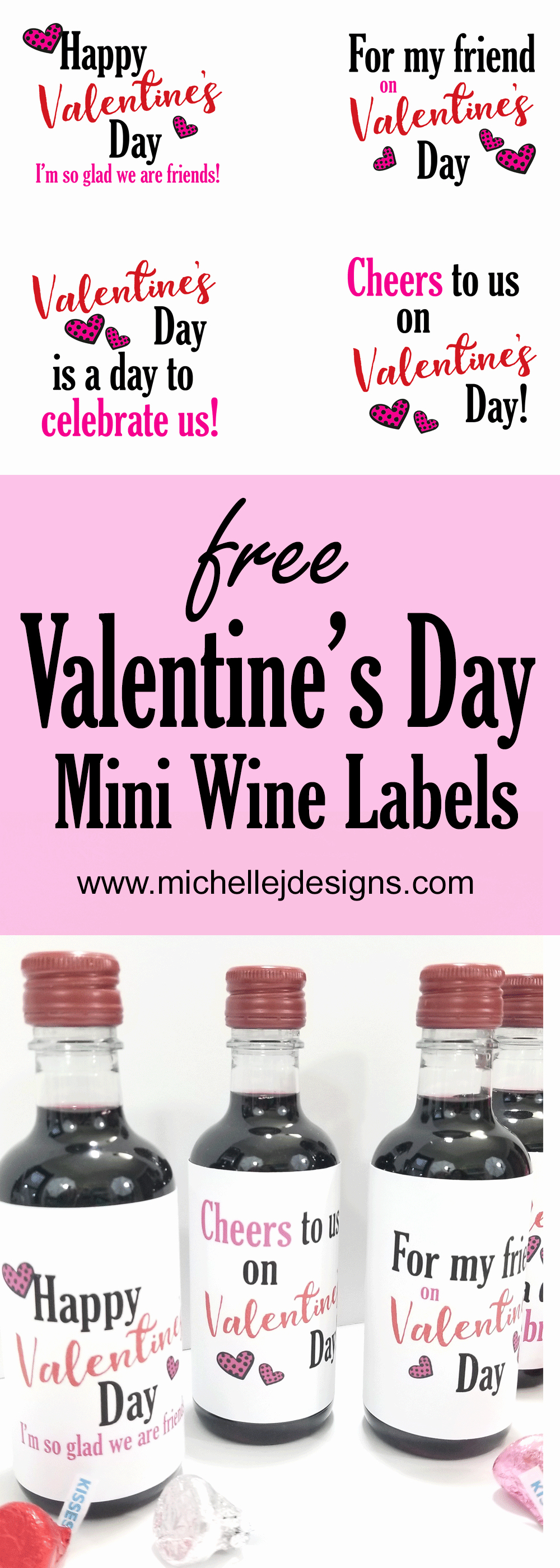 Mini Champagne Bottle Labels Template Beautiful Free Printable Valentine S Day Mini Wine Bottle Labels