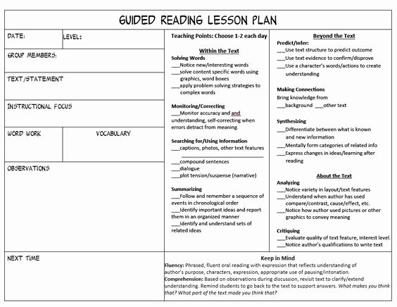 Mini Lesson Plan Template Inspirational Stop Feeling Overwhelmed Trying to Juggle Guided Reading Mini Lessons and Conferencing During