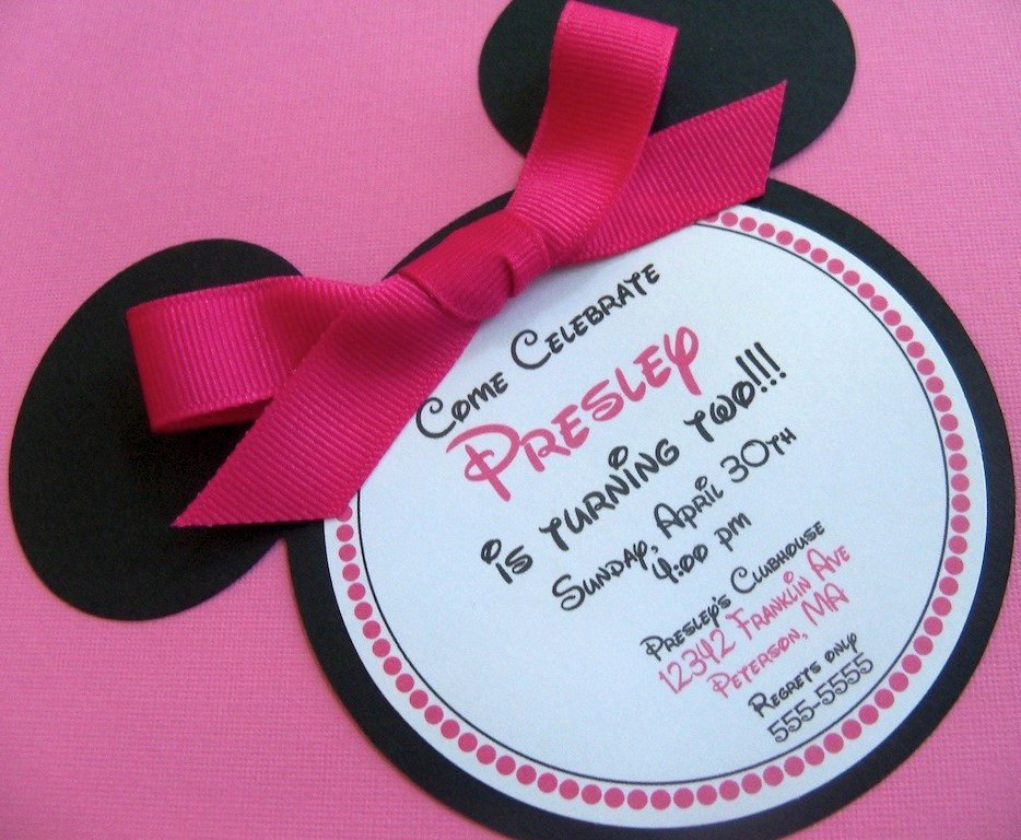 Minnie Mouse Birthday Invitation New Bouncy Houses atlanta and Bouncy Houses atlanta