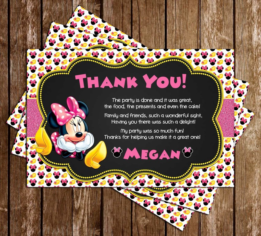 Minnie Mouse Birthday Invitations Awesome Novel Concept Designs Minnie Mouse Oh Two Dles Birthday Party Invitation