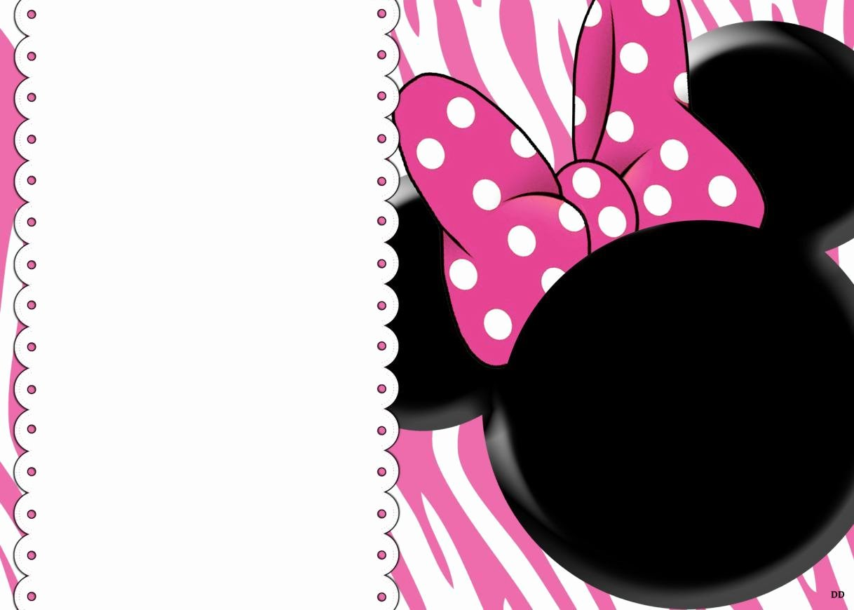 Minnie Mouse Birthday Invitations Beautiful 32 Superb Minnie Mouse Birthday Invitations