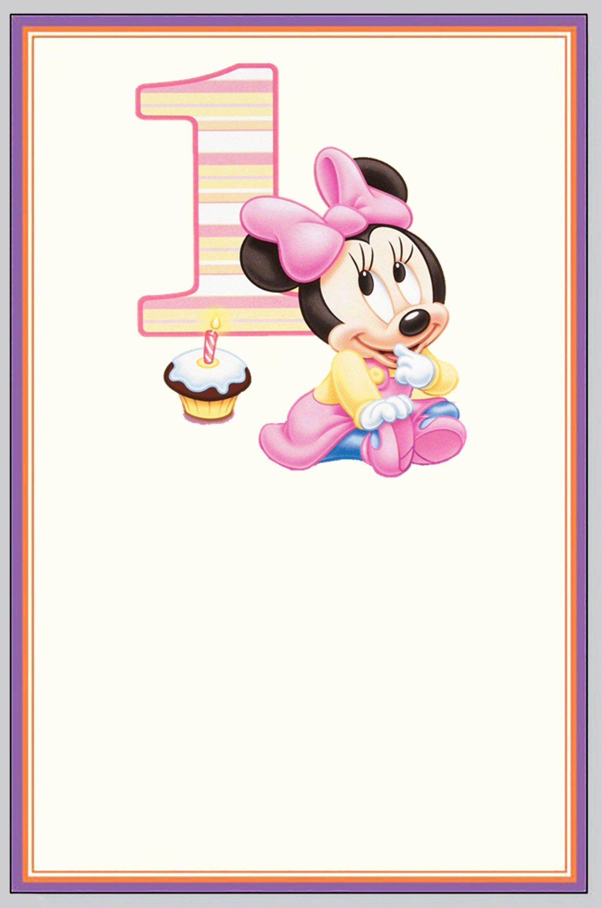 Minnie Mouse Invitation Card Unique How You Can Make First Birthday Invitations Special