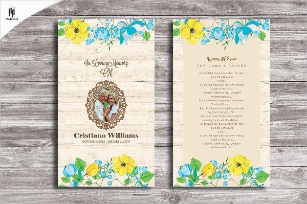 Missionary Prayer Card Template Fresh 8 Prayer Card Templates Psd Ai Eps