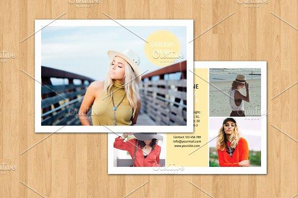 Model Comp Card Template Free Beautiful Model P Card Template V374 Flyer Templates On Creative Market