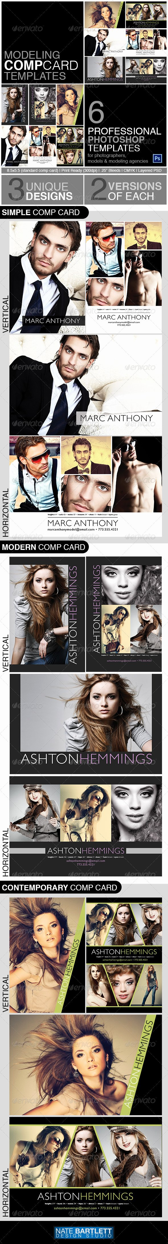 Model Comp Card Template Free Best Of Model P Card Template Kit by Natedilli