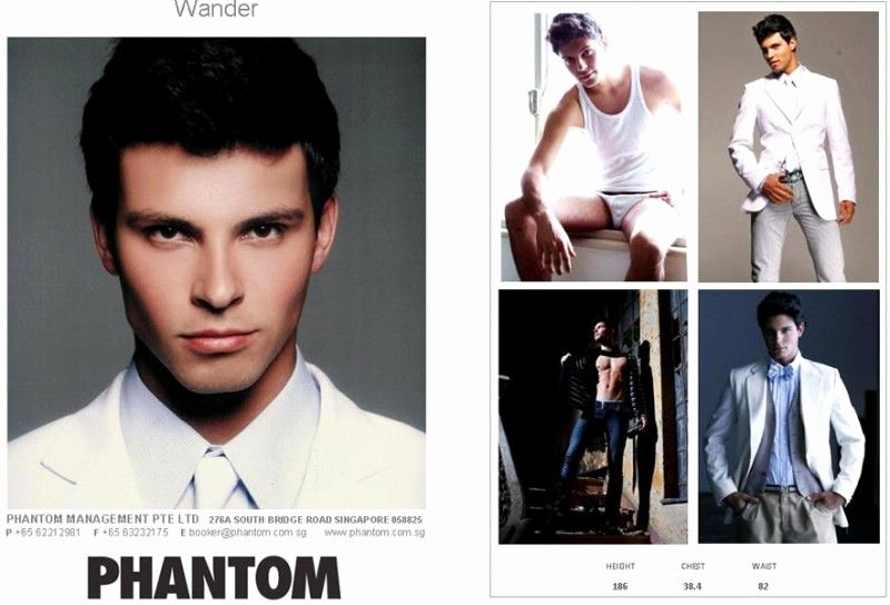 Model Comp Card Template Fresh Male P Cards Examples Pcardsmen
