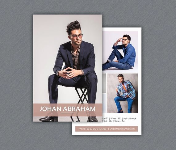 Model Comp Card Template Inspirational Model P Card Template Modeling P Card Shop