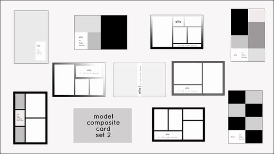 Model Comp Card Template Luxury Pinterest • the World's Catalog Of Ideas