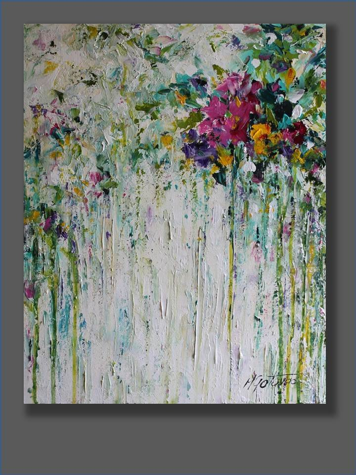 Modern Abstract Flower Paintings Beautiful Flower Painting Abstract Acrylic Painting Acrylic Artworks