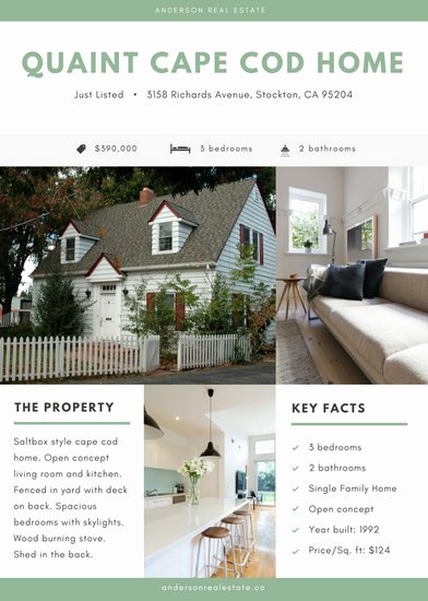 Modern Real Estate Flyers Beautiful Customize 95 Real Estate Flyer Templates Online Canva