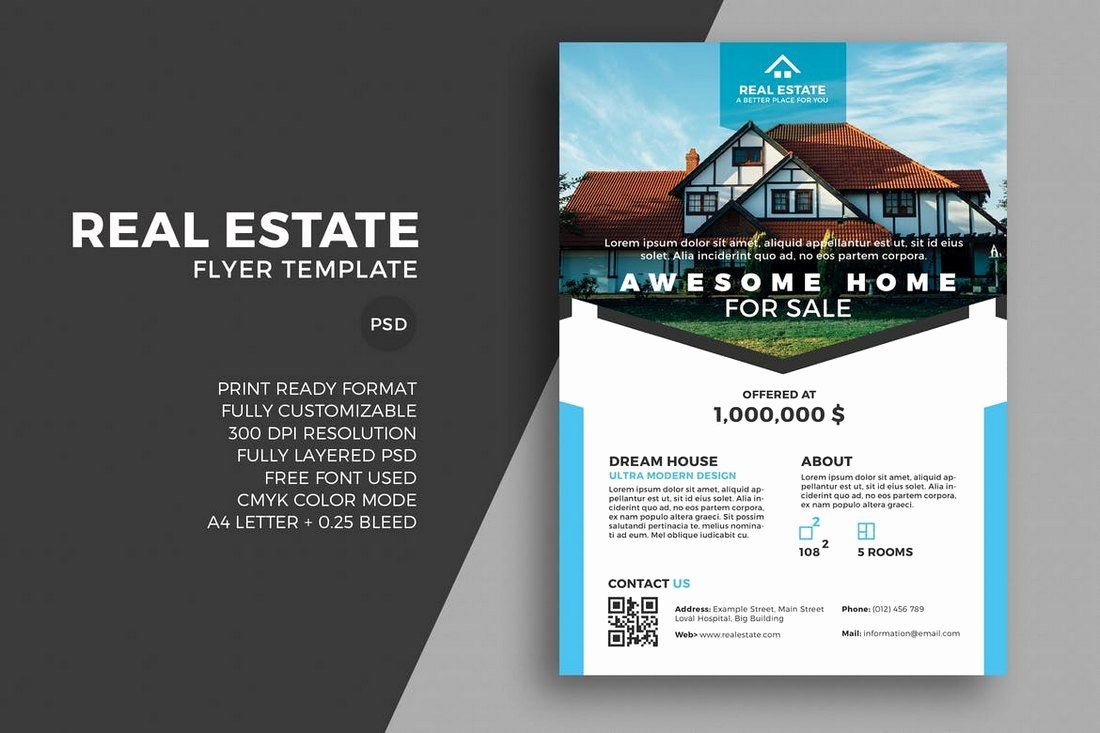 Modern Real Estate Flyers Best Of 30 Best Real Estate Flyer Templates