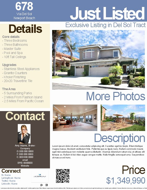 Modern Real Estate Flyers Elegant Real Estate Flyers Real Estate Flyer Templates & Real Estate Brochure Gallery