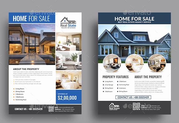 Modern Real Estate Flyers Fresh 11 Modern Real Estate Flyer Designs & Templates Psd Ai