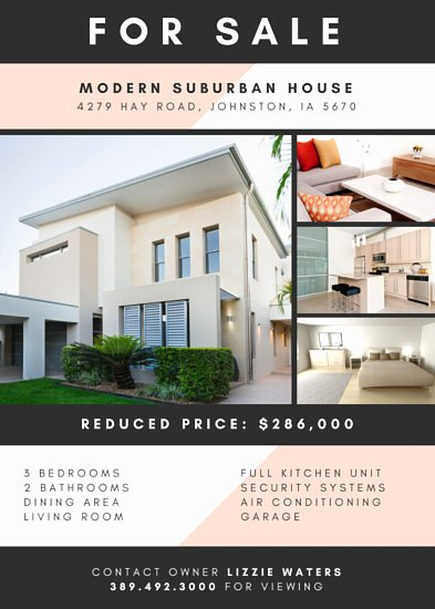 Modern Real Estate Flyers Lovely Customize 104 Real Estate Flyer Templates Online Canva