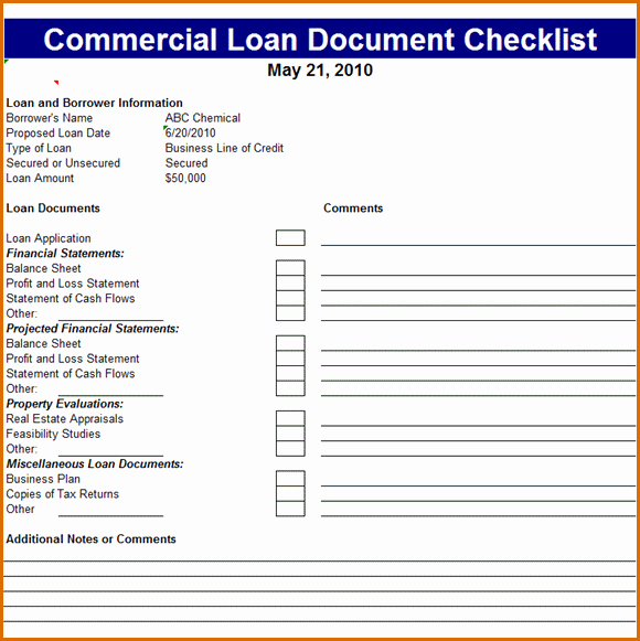 Mortgage Processing Checklist Templates New 8 Word Checklist Template
