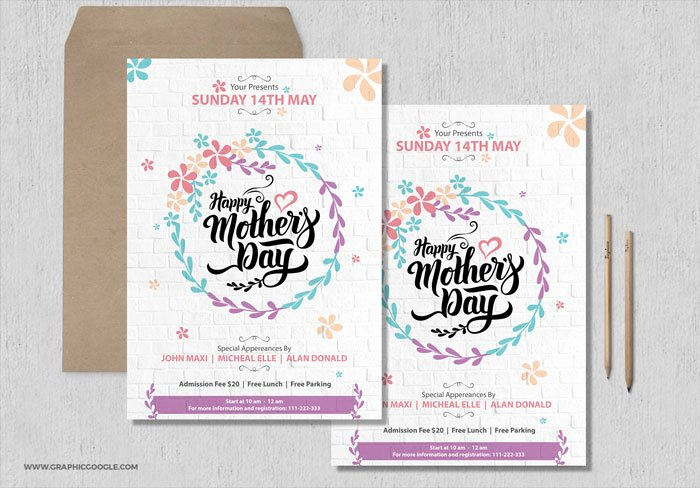 Mother Day Flyer Template Free Awesome 50 Free Ai & Psd Graphic Design Template Resources for Graphic Designersgraphic Google – Tasty