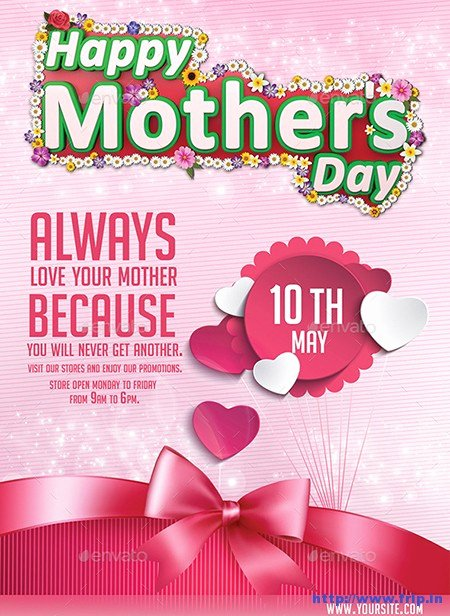 Mother Day Flyer Template Free Best Of 35 Best Mother's Day Flyer Print Templates 2019