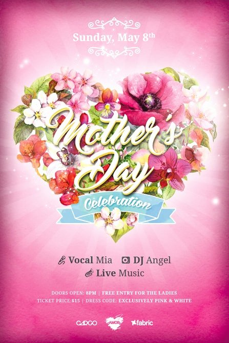 Mother Day Flyer Template Free Best Of Mothers Day Celebration Free Flyer Template Psd Flyer