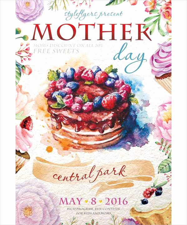 Mother Day Flyer Template Free Luxury 25 Mother S Day Flyer Templates Free Psd Ai Eps format Download