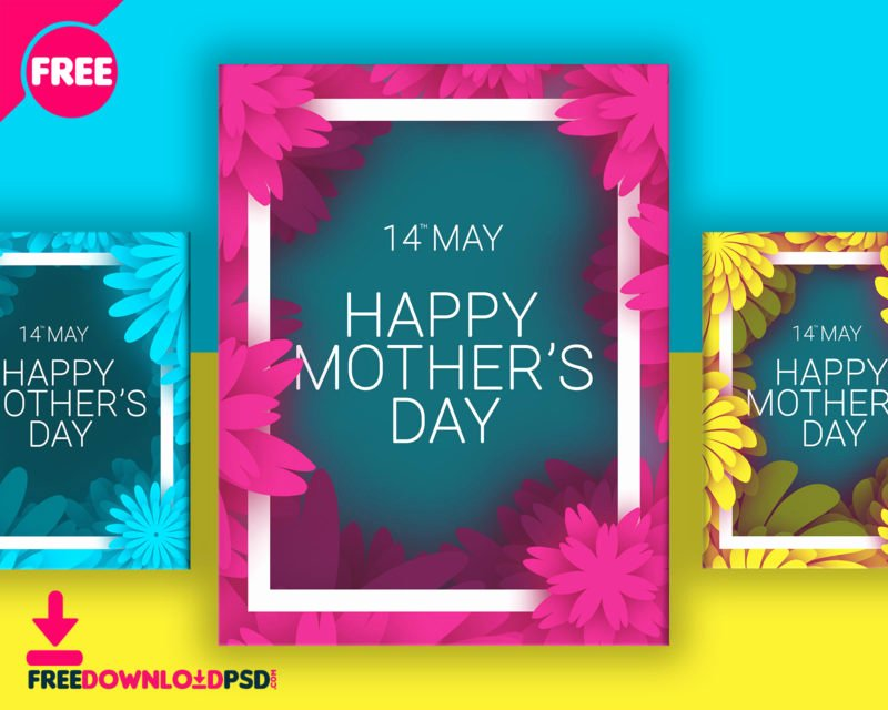 Mother Day Flyer Template Free Unique [download] Mothers Day Colorful Flyer