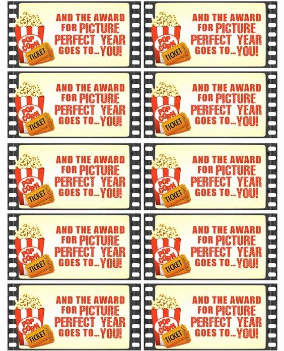 Movie Magic Budgeting Templates Fresh Movie Night Teacher Gift