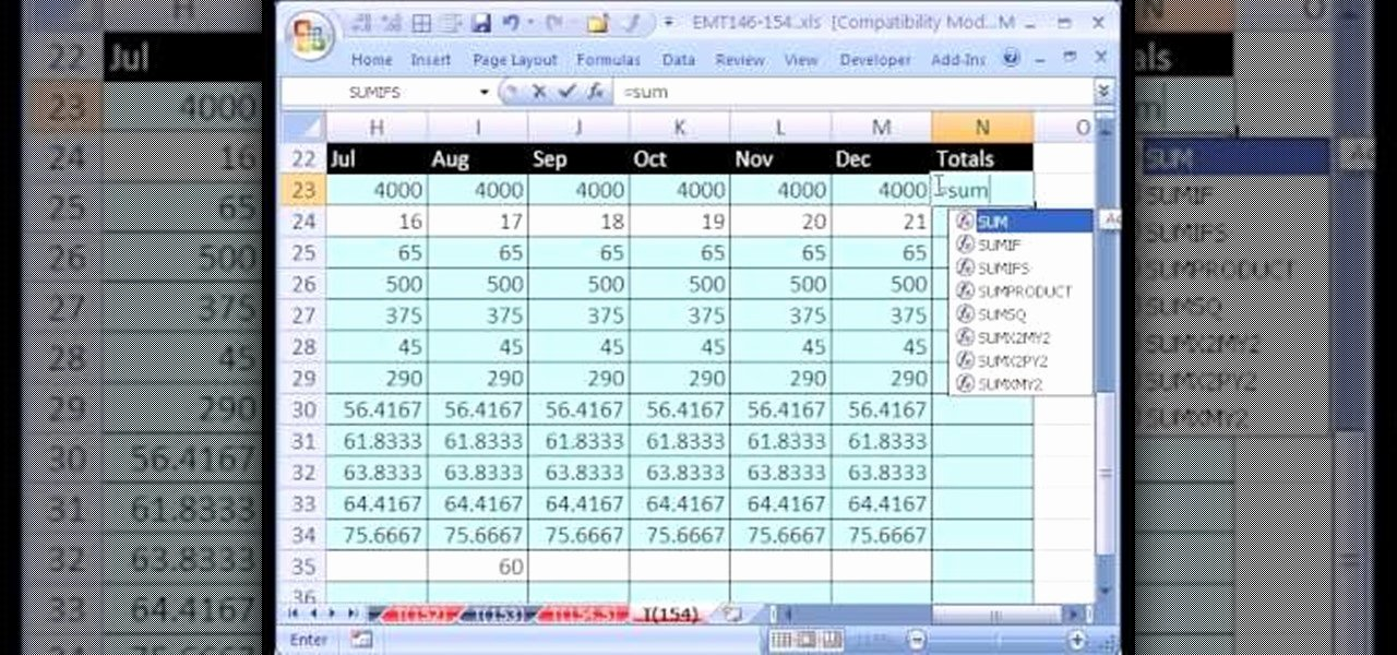 Movie Magic Budgeting Templates Lovely How to Create A Personal Bud Based On Past Data In Excel Microsoft Fice Wonderhowto