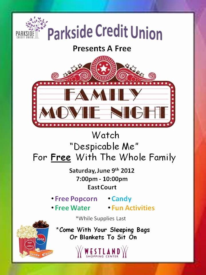 Movie Night Flyer Templates Best Of Best Printable Movie Night Flyer Template – Arixta
