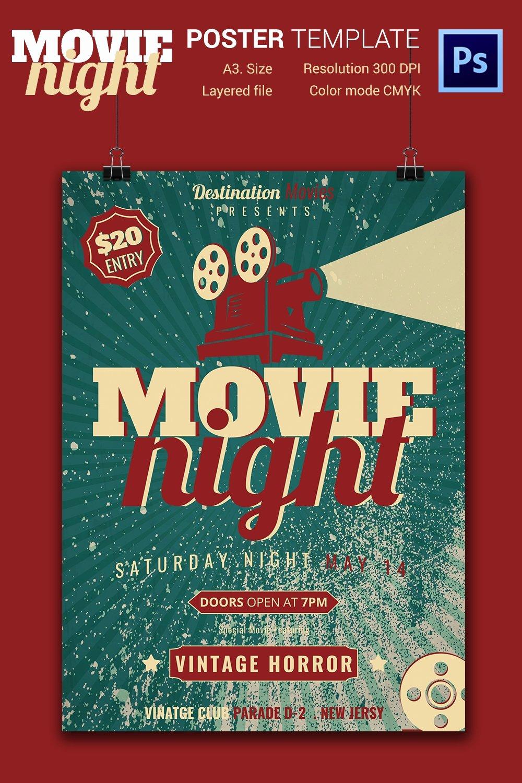 Movie Night Flyer Templates Inspirational Movie Night Flyer Template 25 Free Jpg Psd format Download