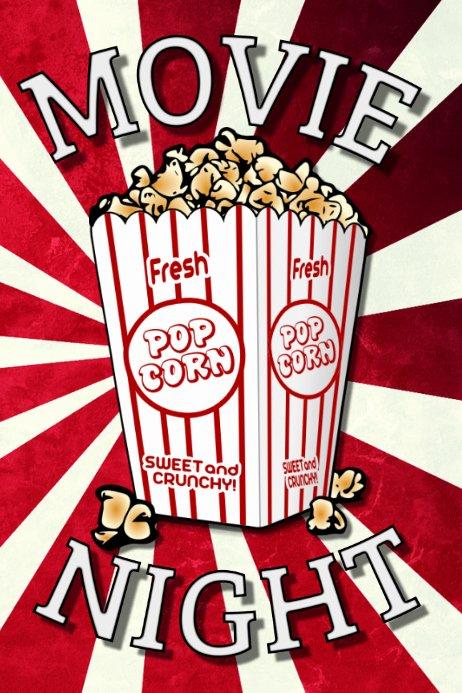 Movie Night Flyer Templates Luxury Copy Of Movie Night