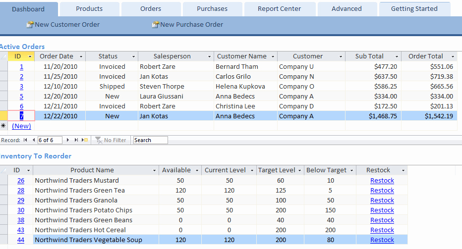 Ms Access Project Management Templates New Microsoft Access Template for Inventory Management
