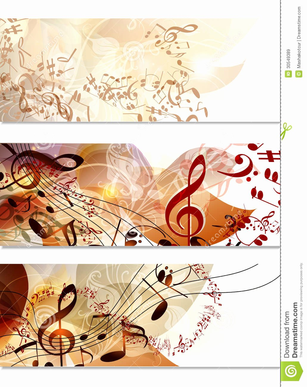 Music Business Cards Template Inspirational Business Cards Template Set In Floral Style Stock Vector Illustration Of Banner Leafs