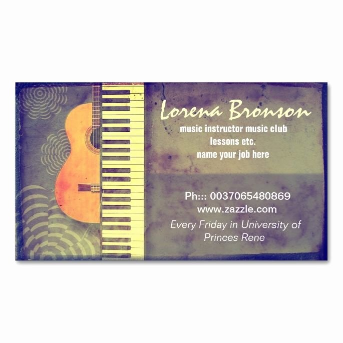 Music Business Cards Template Unique 2150 Best Images About Music Business Card Templates On Pinterest