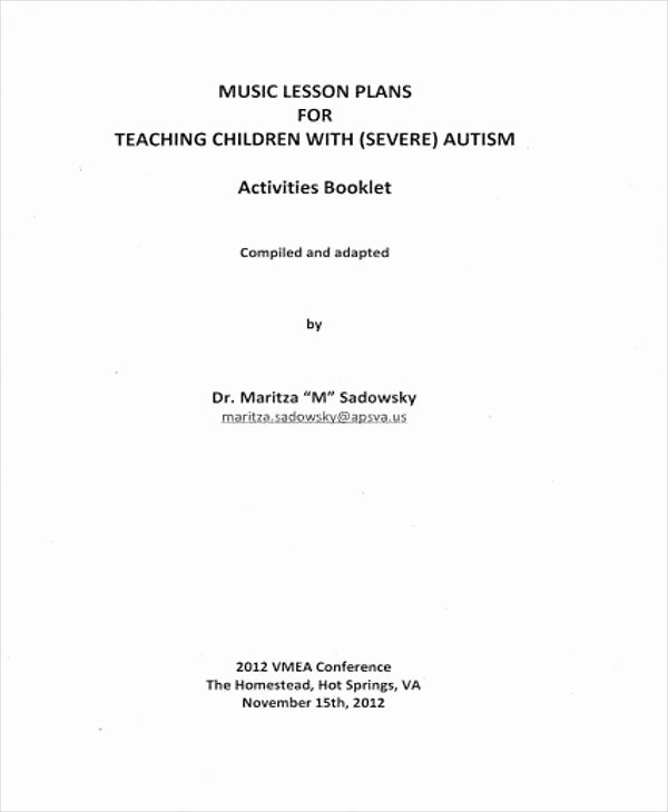 Music Lesson Plan Template Inspirational 7 Lesson Plan Samples & Templates In Pdf