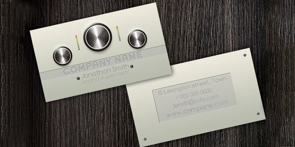 Music Producer Business Cards Elegant 50 Dj Music Business Cards & Designs