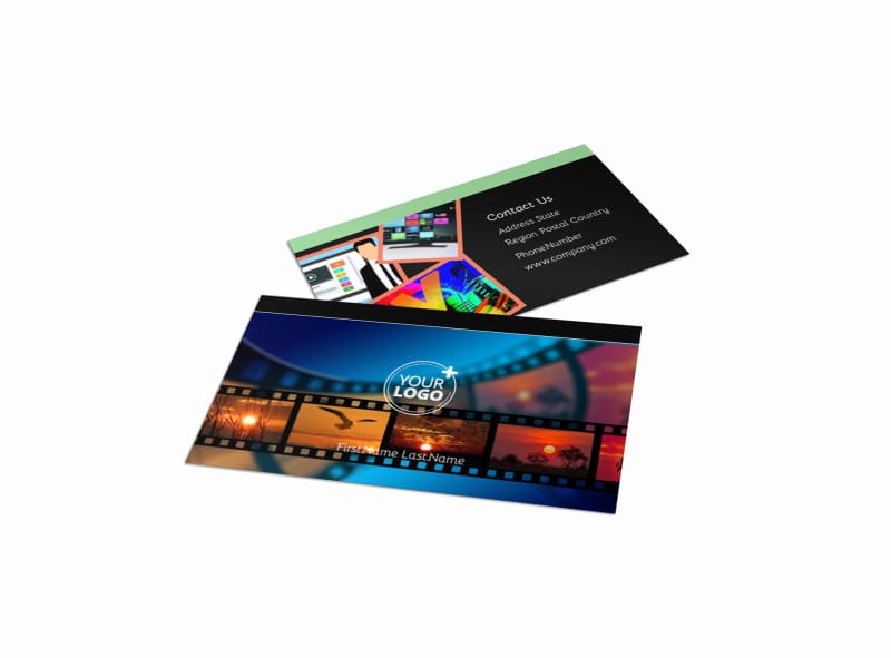 Music Producer Business Cards Inspirational Dvd Video Production Business Card Template