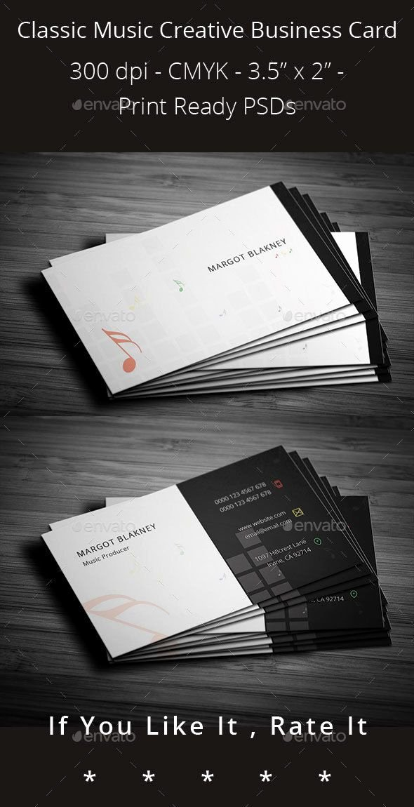 Music Producer Business Cards Lovely A Creative Modern Clean Minilasinst Business Card Design Perfect for Any Kind Of Musicians