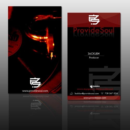 Music Producer Business Cards Luxury Business Card for Music Production Label