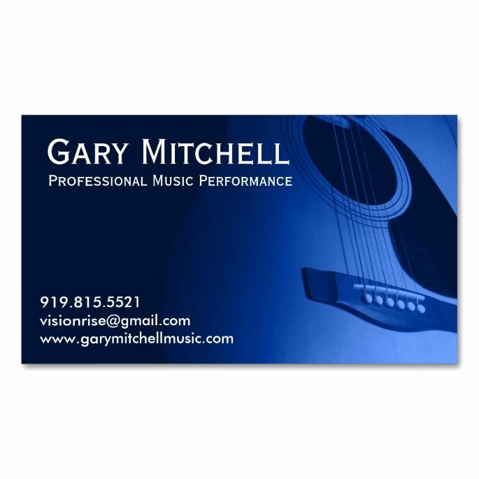 Musician Business Card Examples Elegant 1000 Images About Music Business Card Templates On Pinterest