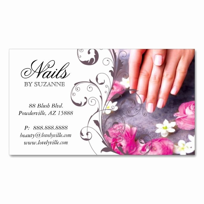 Nail Salon Business Cards Beautiful 1938 Best Images About Nail Technician Business Cards On Pinterest