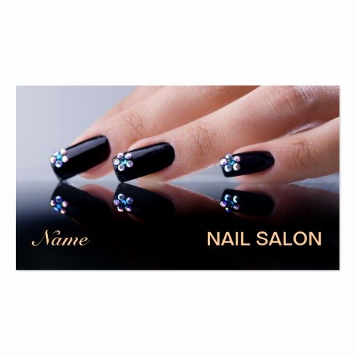 Nail Salon Business Cards Best Of Nail Salon Business Card