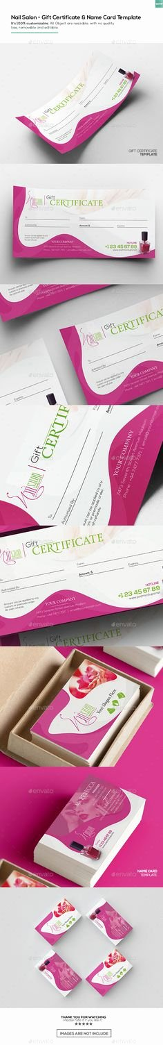 Nail Salon Gift Certificate Template Awesome 45 Best Employee Recognition Certificates Images On