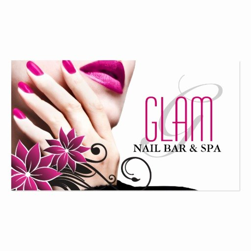 Nail Tech Business Cards Luxury Nail Technician Business Card