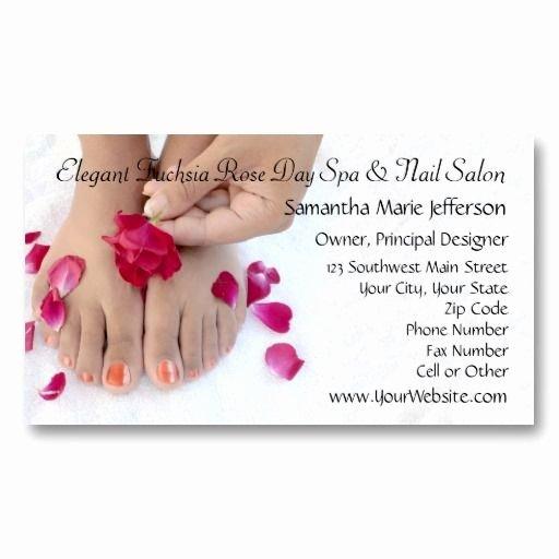 Nails Business Cards Design Elegant 78 Best Images About Nail Salon Business Cards On Pinterest